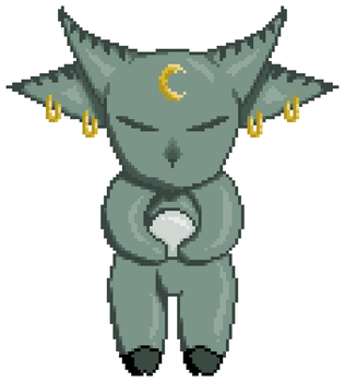 Moon's Child - Pixel Adopt (OPEN) by GildedMelody