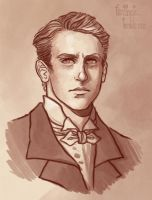 Matthew Crawley by CrystalCurtisArt