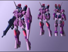 MLP mecha: Twilight Sparkle design WIP by zeiram0034