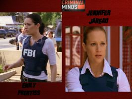 Criminal Minds JJ and Emily by sarahchicklovesJJ