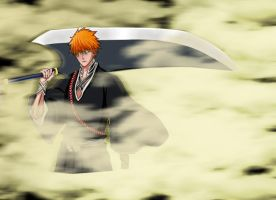 Bleach 459-Ichigo Shinigami by Salty-art