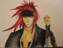 Renji Abarai by MoonSnake12