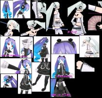 Hatsune Miku Infinity and white suit ref sheet by shadowcat-666
