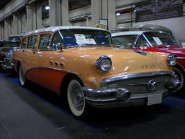 Buick Special Estate station wagon '56 by franco-roccia