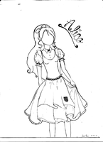 Alice in Wonderland by luci123