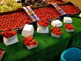 Strawberries in Paris by LillyFruit