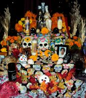 Day of The Dead Altar 4 by Humble-Novice