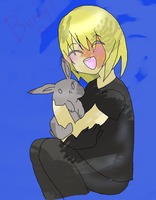 Commission: Mello With A Bunny by Akuma-Nushi