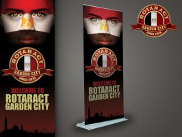 Rotaract GC Rollup by XtrDesign