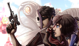 Cry plays: Bioshock Infinite by gonedreamer