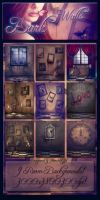 Dark Walls Backgrounds by moonchild-ljilja