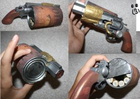 Fully Upgraded Bioshock Pistol by KyouHika