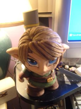 THE MIGHTY MUNNY LINK no hat by BlueDragon117