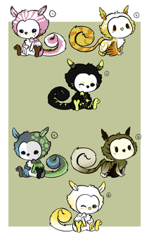 Mimo Batch (CLOSED) by Minties-Adopts