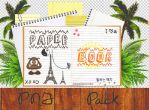 Paper Books - PNG PACK by fattyBear