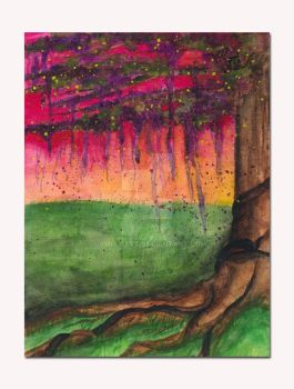 Abstract Tree by SamIamArt