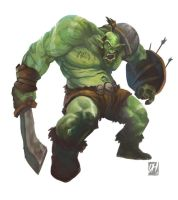 Orc by davidhueso