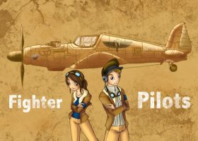 Fighter pilots by ElinKarlsson