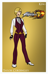 King of Fighters - King by Femmes-Fatales