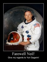 Neil Armstrong was gone by Mihenator
