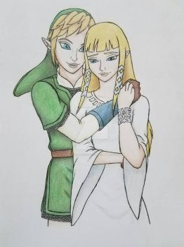Link x Zelda by TwilightPrincess88