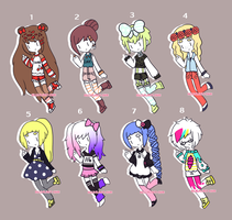 Random Adopts {2/8 OPEN} by hello-planet-chan
