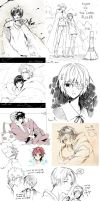 Doodle Compilation 01 by inma