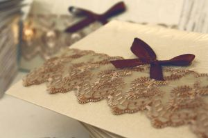 Weeding invitation by briellemade