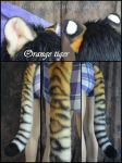 Tiger Ear and tail Set by Beetlecat