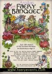 Faery Banquet flyer by liselotte-eriksson