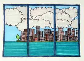 city by Lou-in-Canada