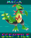 MEGA Sceptile by Axouldier