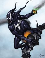 symbiote green goblin by unknown49046