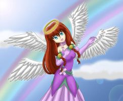 Angel in the Clouds by himeko