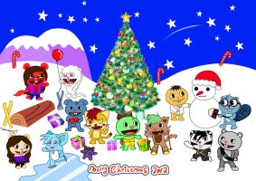 Merry Christmas 2012 by zhangxin1024