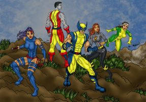 X-men Team 2011 by jmaturino