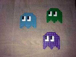 Perler Hama Beads ~ Pacman by Yuny-Chan
