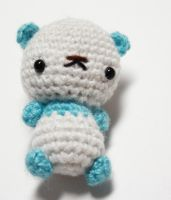 Tiny Panda Bear 03 by tinyowlknits
