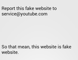 If I can't report. that mean this is fake by Xoppernop