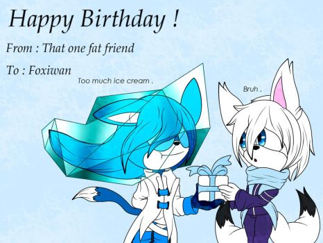 BD gift for Foxiwan by Cype9K