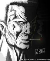 Sin City :Marv: by Red-Sinistra