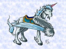 WoW- Unicorn Mount by Zevnen