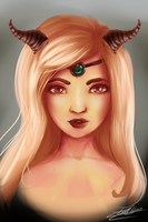 Aries are leaders (+video timelapse) by Nekomiaw