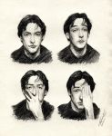 Many faces of John Cusack by Ascendead--Master