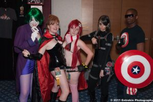 Cosplay Deviant Group 1 by AcidFusion51