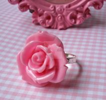 Blooming Rose Ring by FatallyFeminine