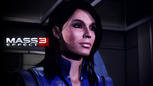 Ashley Williams Wallpaper (Earth) by Strayker