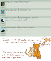 Q+A 83: WilliamTell shipping by Ask-FlameTail