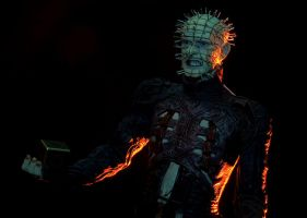 Pinhead Figure Shoot 02 by stphq