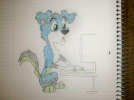Computer Wiz Covart [Sketch] by Scamp4553